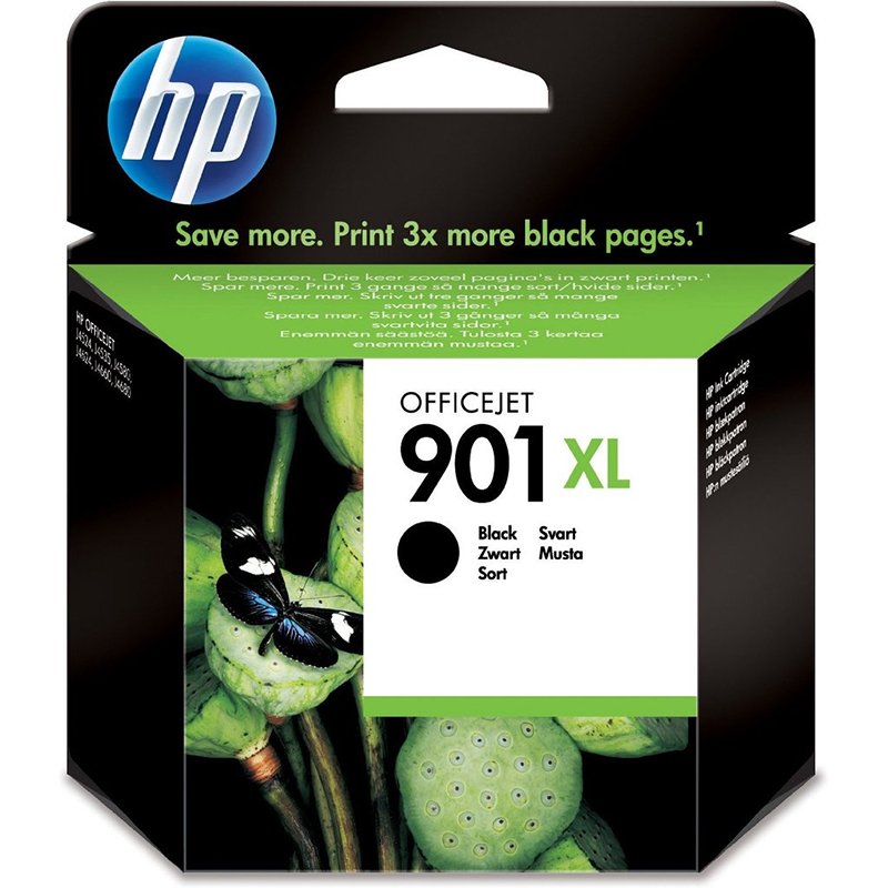 Compare retail prices of **EOL** HP Original 901XL Black Officejet Ink Cartridge (CC654AE) to get the best deal online