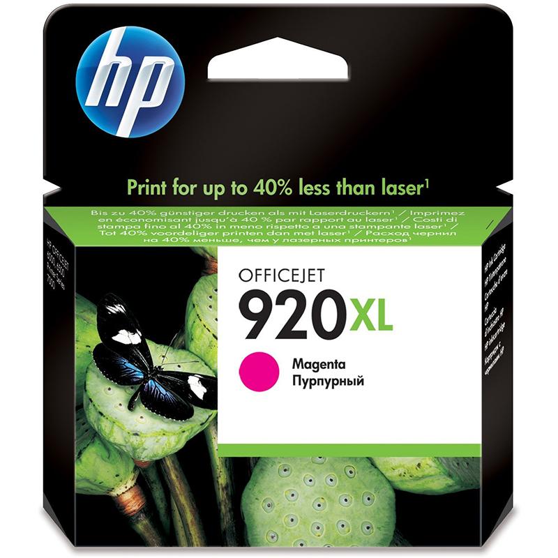 HP 920XL Magenta Officejet Ink Cartridge (CD973AE)
