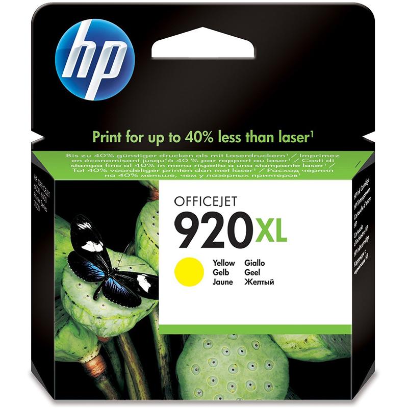 HP 920XL Yellow Officejet Ink Cartridge (CD974AE)