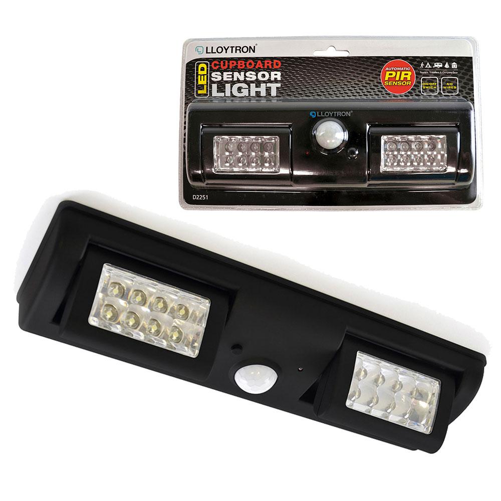 16 led motion sensor cupboard sensor lights pir bedroom