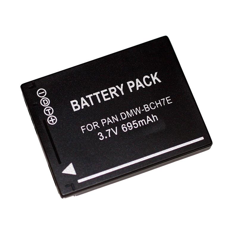 7dayshop Compatible Panasonic DMWBCH7E Digital Camera Battery  695mAh