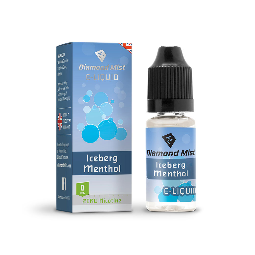 Compare prices for Diamond Mist E-Liquid Iceberg Menthol 10ml - 0mg Nicotine Free