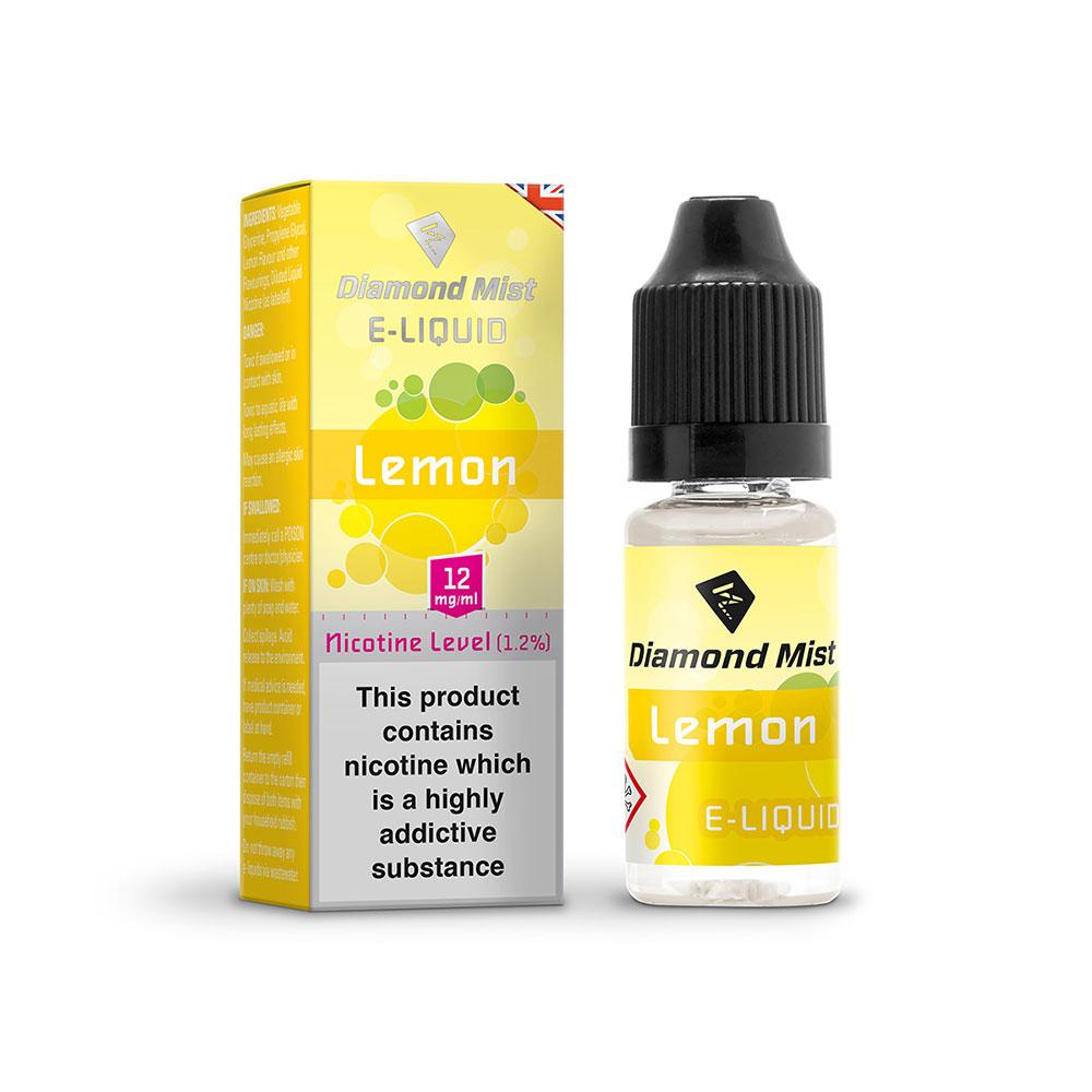 Compare prices for Diamond Mist E-Liquid Lemon 10ml - 12mg Nicotine