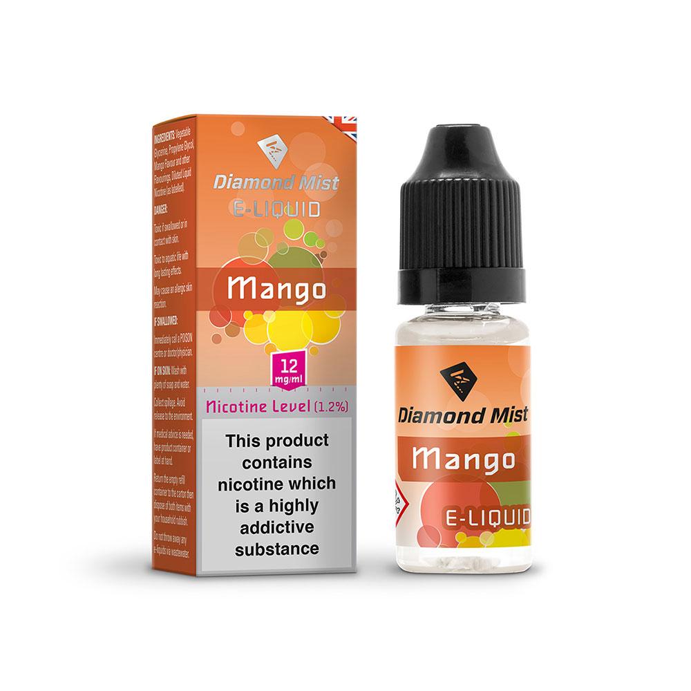 Compare prices for Diamond Mist E-Liquid Mango 10ml - 12mg Nicotine