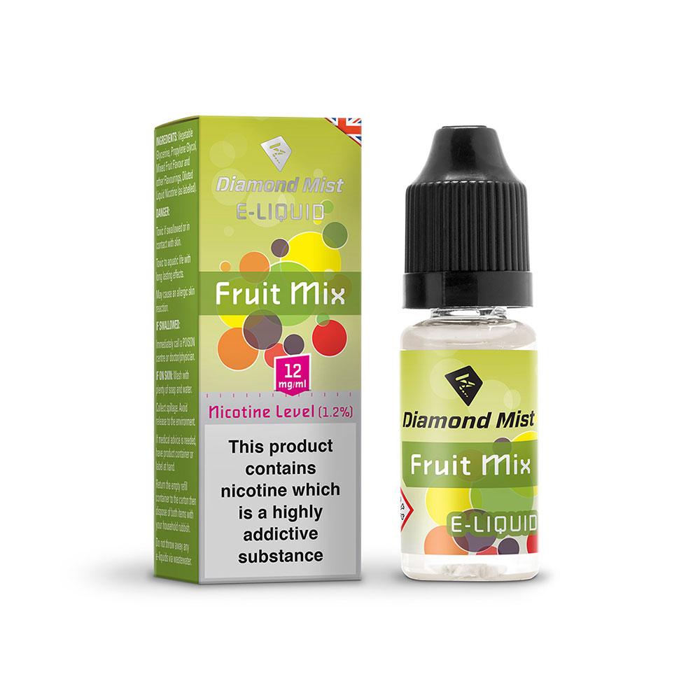 Compare prices for Diamond Mist E-Liquid Mixed Fruit 10ml - 12mg Nicotine