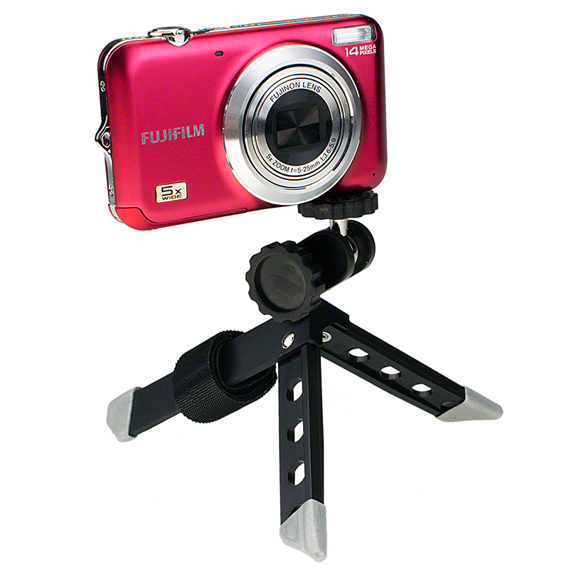7dayshop Tripods  Ultra Mini Folding Tripod (with post strap) for Compact Cameras and Camcorders