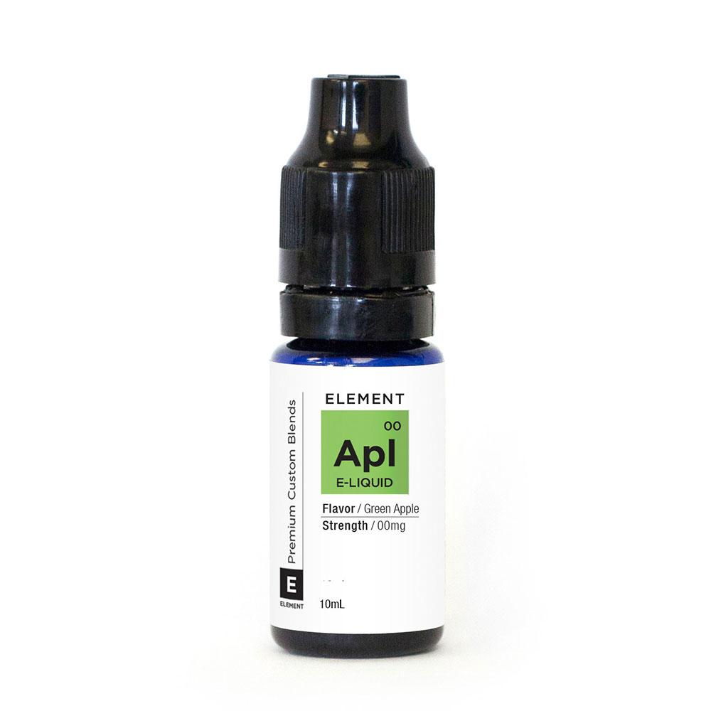 Compare prices for Element E-liquid Green Apple 10ml - 6mg Nicotine