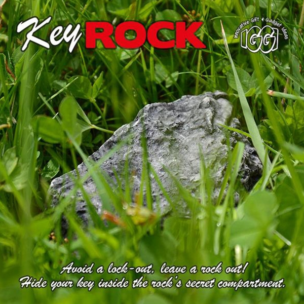 Details about Key Safe Rock Hide In Stone Security Safe Holder Storage  Hiding Outdoor Garden