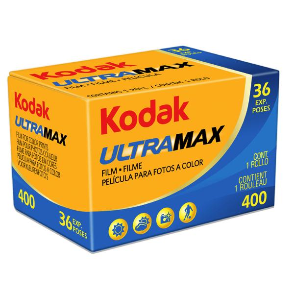 Kodak Gold ULTRAMAX 400  13536  Colour Negative Print Film (Single Roll)