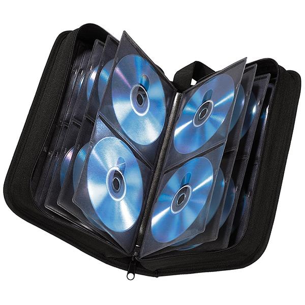 Hama CD  DVD  BluRay Storage Case  Wallet (Holds 120 Discs)  Ref. 033833