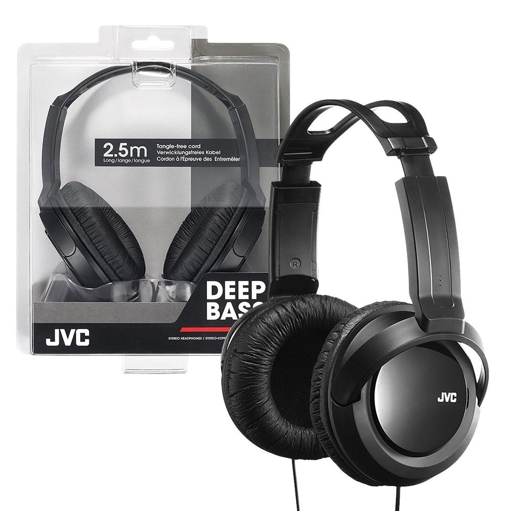 JVC Full-Size Stereo Headband Headphones 3.5mm Jack Large 40mm