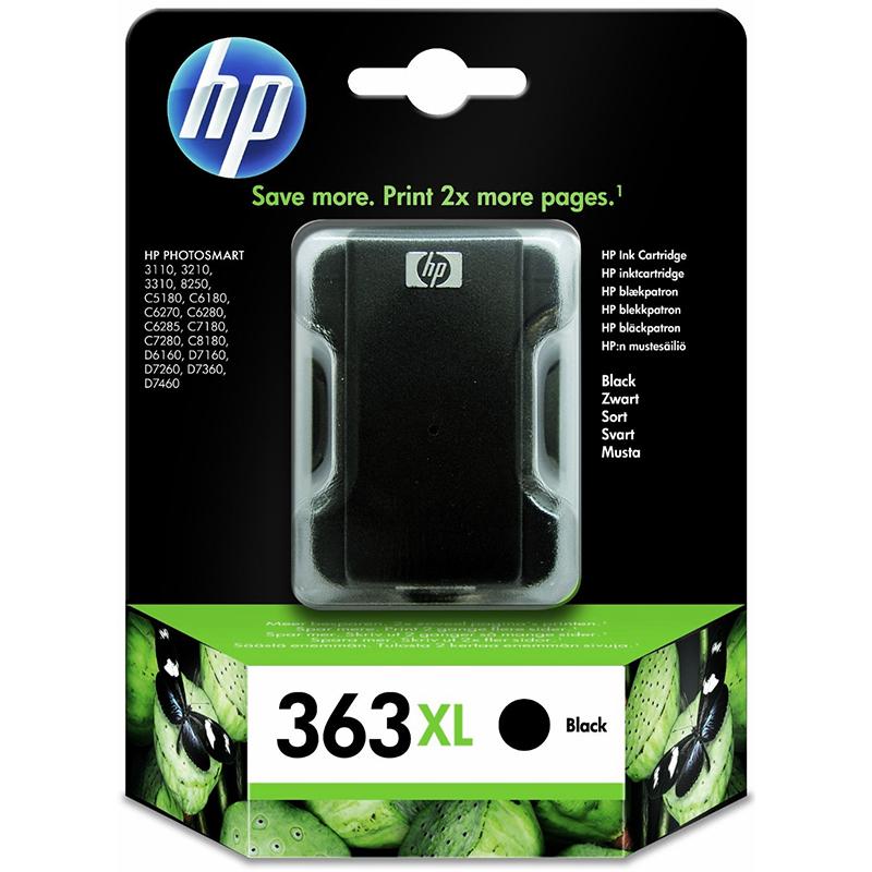 HP 363XL Black Ink Cartridge (C8719EE)