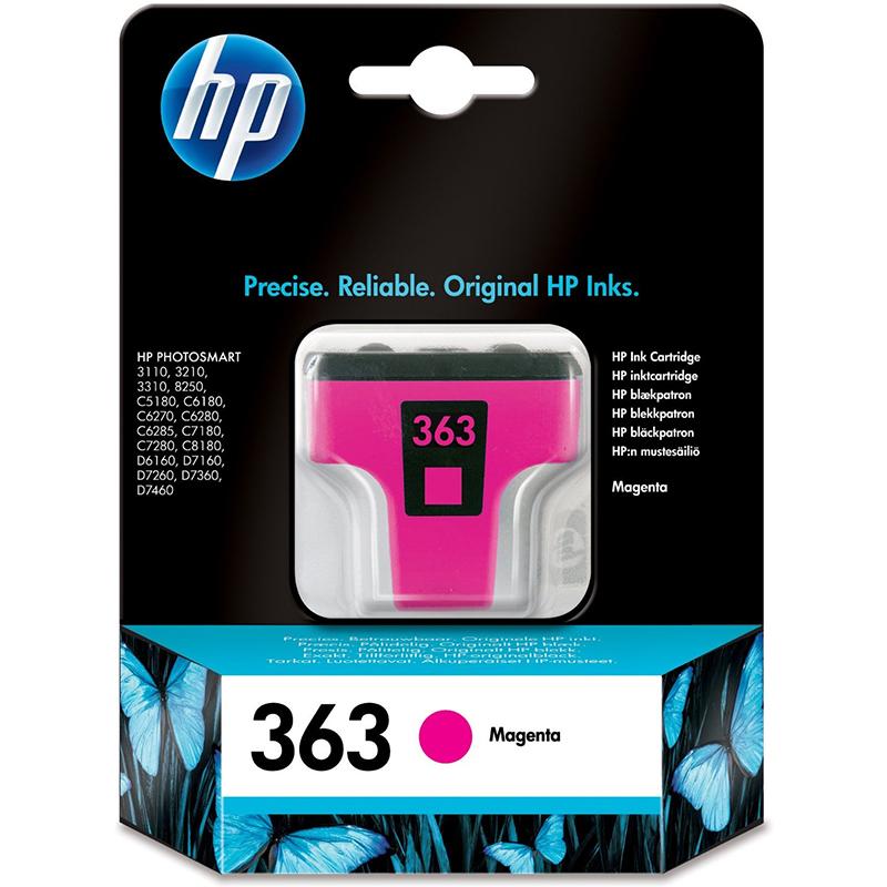 HP 363 Magenta Ink Cartridge C8772EE