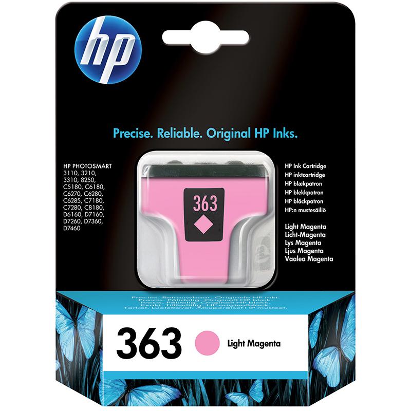 HP 363 Light Magenta Ink Cartridge (C8775EE)