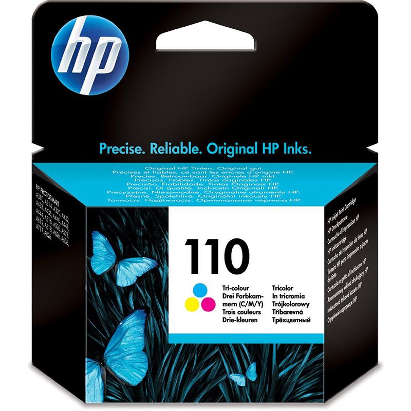 HP 110 TriColour Ink Cartridge (CB304AE)