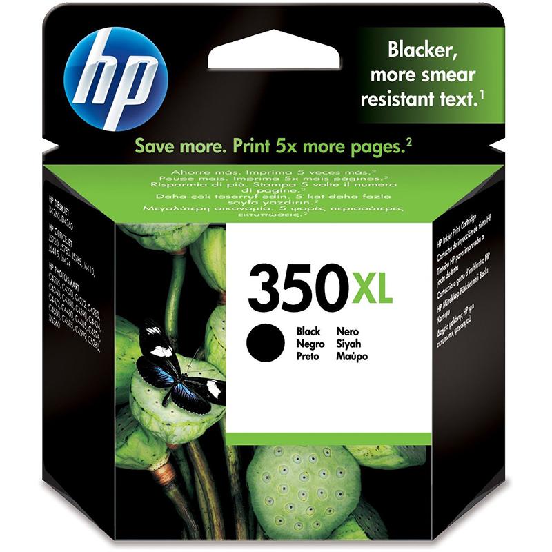 HP 350XL Black Ink Cartridge (CB336EE)