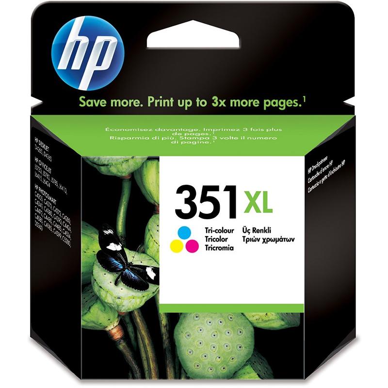 HP 351XL TriColour Ink Cartridge (CB338EE)