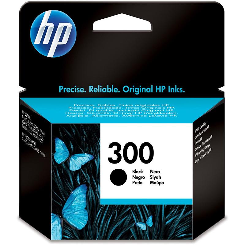 HP 300 Black Ink Cartridge (CC640EE)