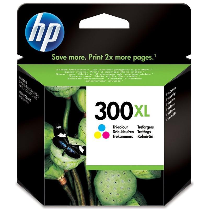 HP 300XL TriColour Ink Cartridge (CC644EE)