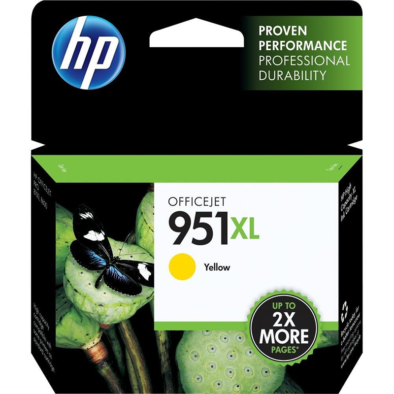 Compare retail prices of **EOL** HP 951XL Yellow OfficeJet Ink Cartridge (CN048A) to get the best deal online