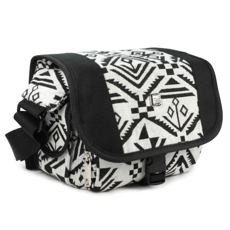 Navajo DSLR  Digital compact Camera case hipster material  Black  White