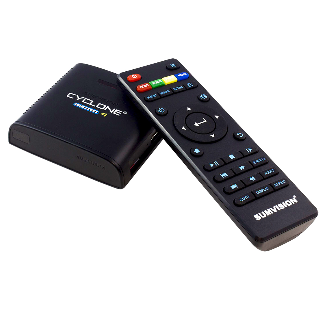 Sumvision Cyclone Micro 4 With Miracast and Network DLNA