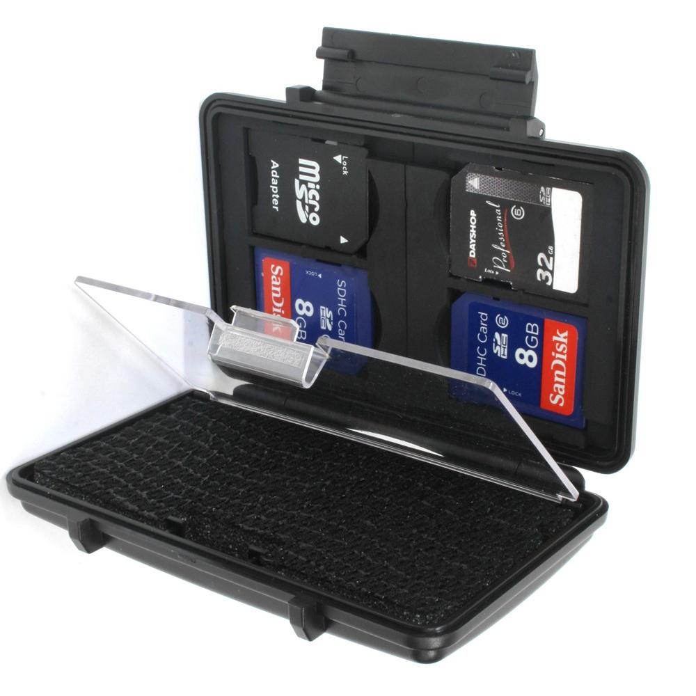 7dayshop Memory Card Case  Armour Hard Case for SD SDHC SDXC  7ARMSD