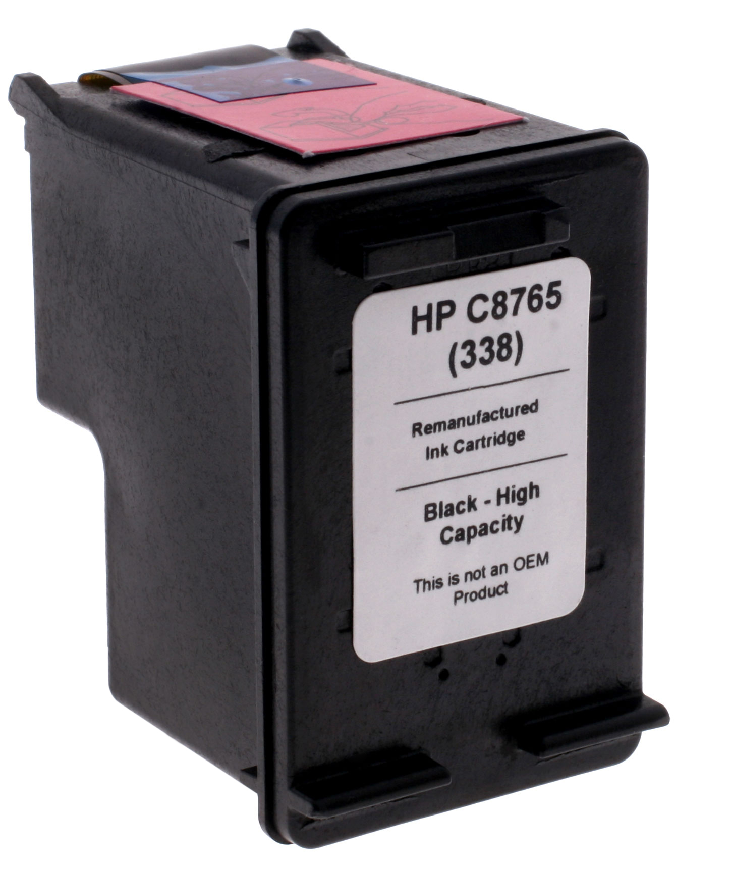 7dayshop Remanufactured HP C8765EE Black Inkjet  Print Cartridge (No.338)