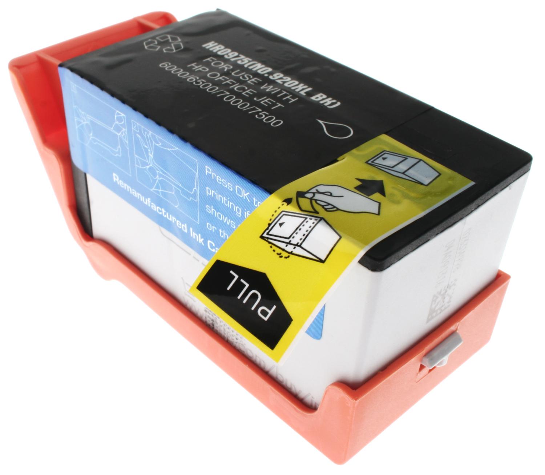 7dayshop Remanufactured HP CD975AE Black Inkjet  Print Cartridge (No.920XL) (Chipped)