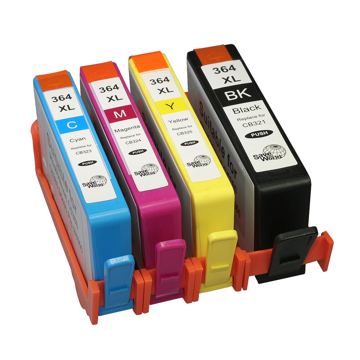 Compare retail prices of ***EOL*** 7dayshop Premium Remanufactured 364XL Inkjet Cartridge 4 Pack (Chipped) for HP to get the best deal online