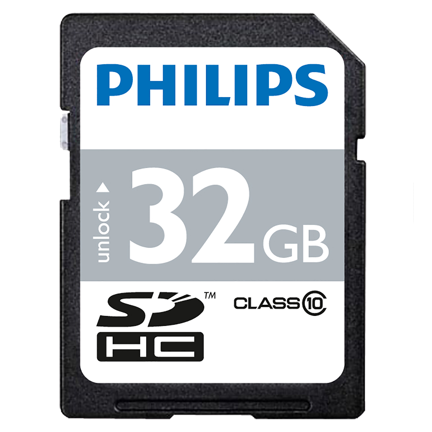 brand new 32gb philips sd sdhc memory card class 10 32gb. Black Bedroom Furniture Sets. Home Design Ideas