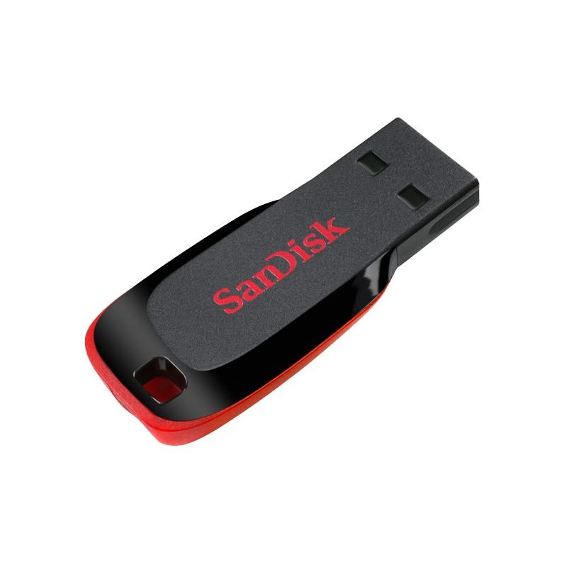 Sandisk Cruzer Blade USB 2.0 Flash  Key Drive  16GB