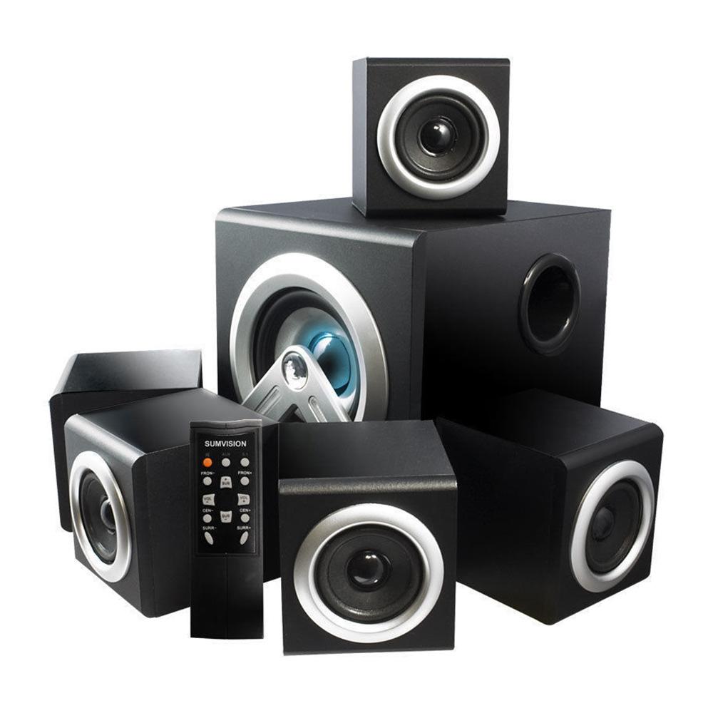 sumvision v cube 5 1 surround sound computer cinema. Black Bedroom Furniture Sets. Home Design Ideas