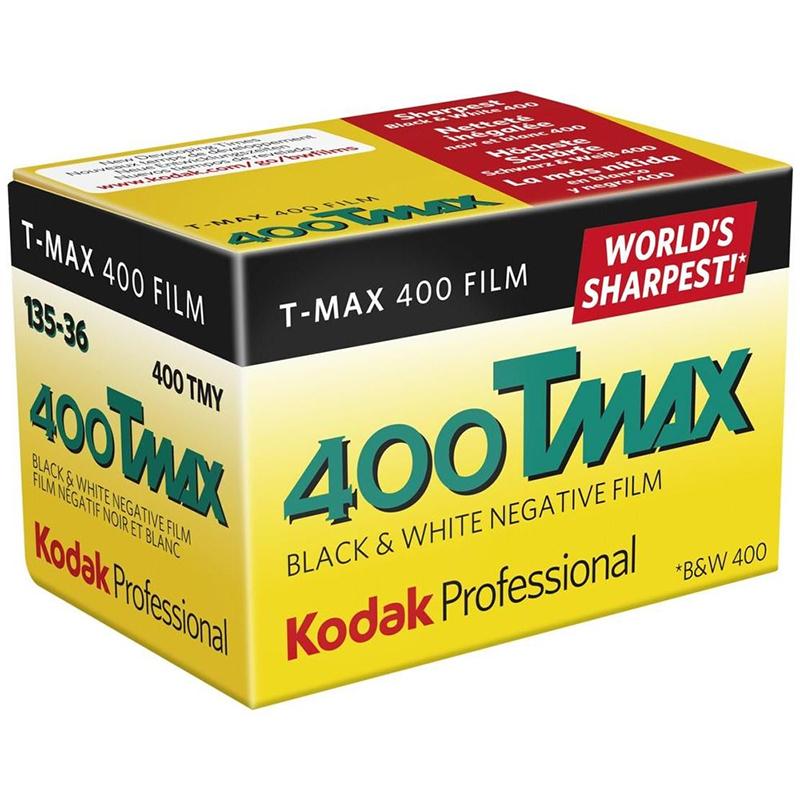 Kodak Professional TMAX 400  13536  Black & White Print Film (Single Roll)