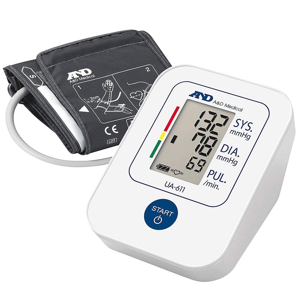 A&D Medical Digital Blood Pressure Monitor Home and Travel - Model. UA-611