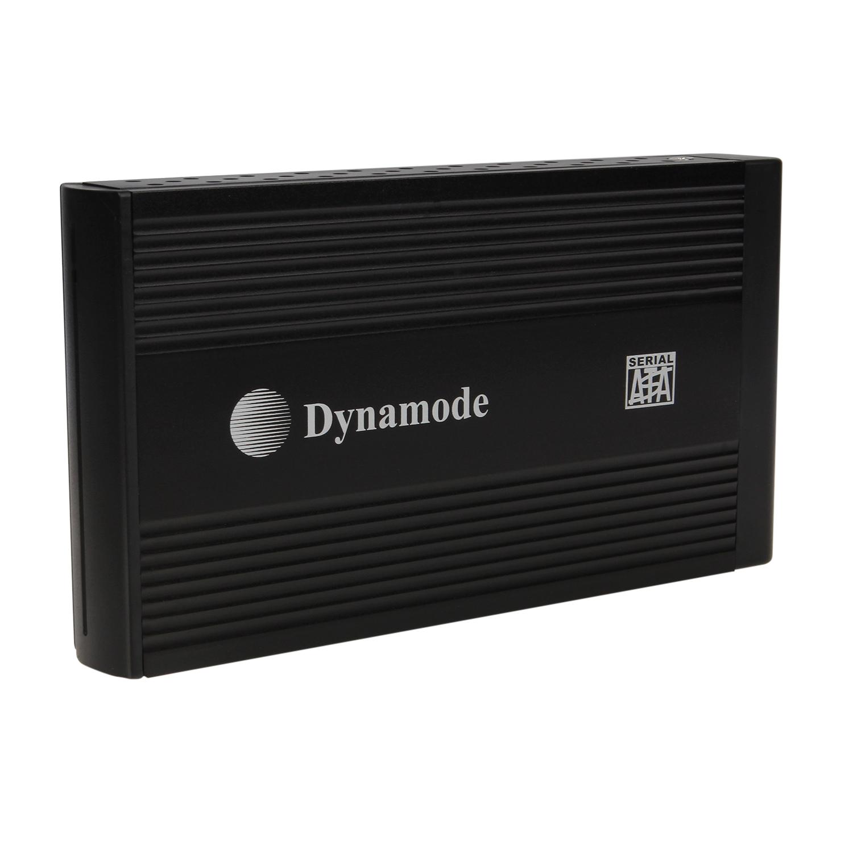 Dynamode 3.5 SATA to USB 2.0 External Hard Drive Enclosure  Black