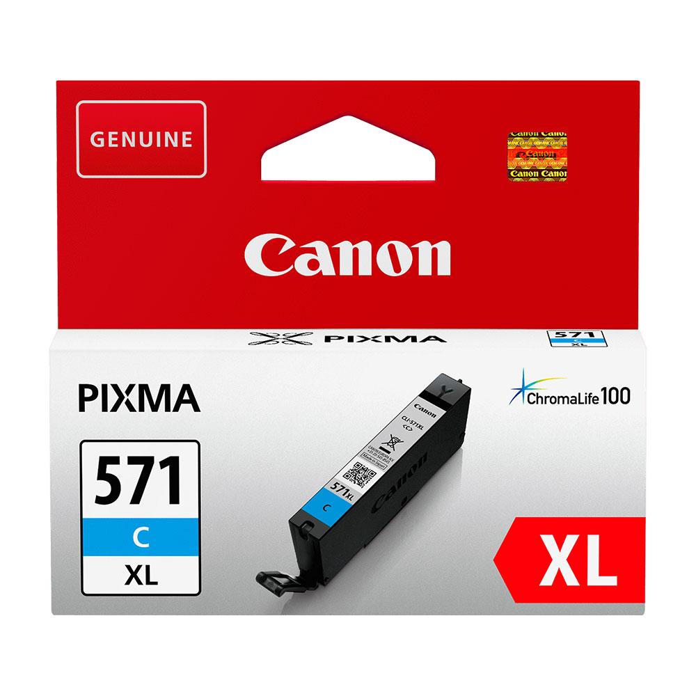 Canon Original CLI-571 XL C Ink Cartridge Cyan