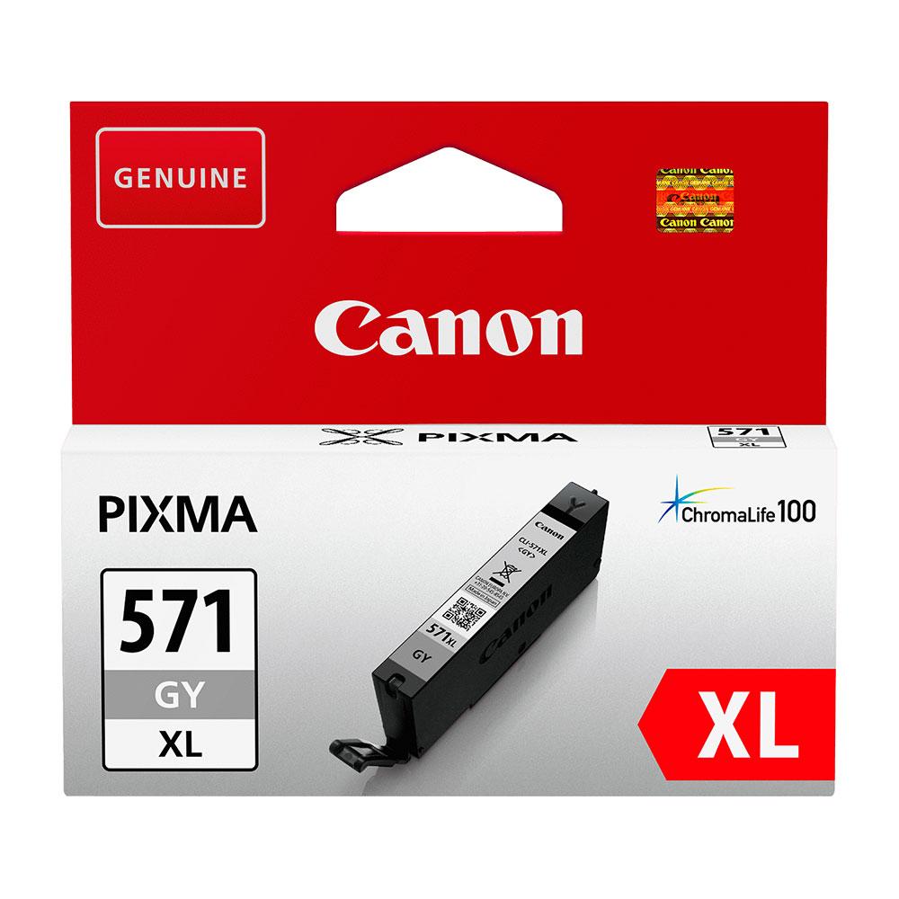 Canon Original CLI-571 XL GY Ink Cartridge Grey