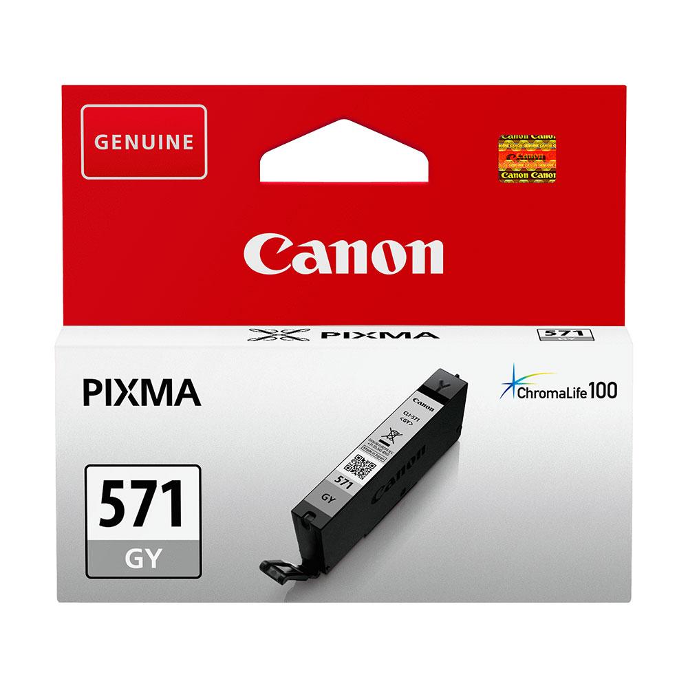 Canon Original CLI-571GY Ink Cartridge Grey
