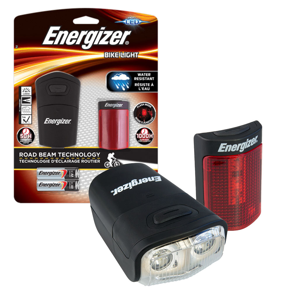 Compare retail prices of ***EOL*** Energizer 80 Lumen LED Front and Rear Bike Light Set Road Beam Technology - Batteries Incl. to get the best deal online