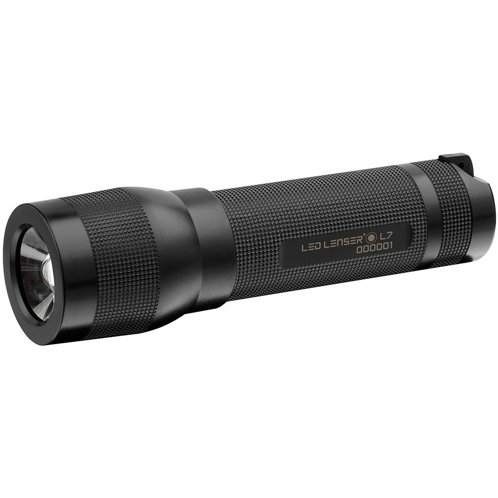 Exercise & Fitness Ledlenser L7 Lightweight LED Torch (Black) 7008