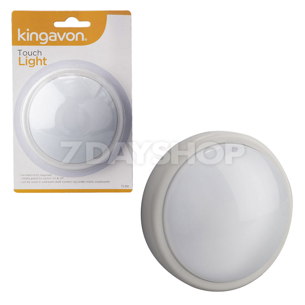 Kingavon AA Battery Operated White Night Safety Touch Light lowest price