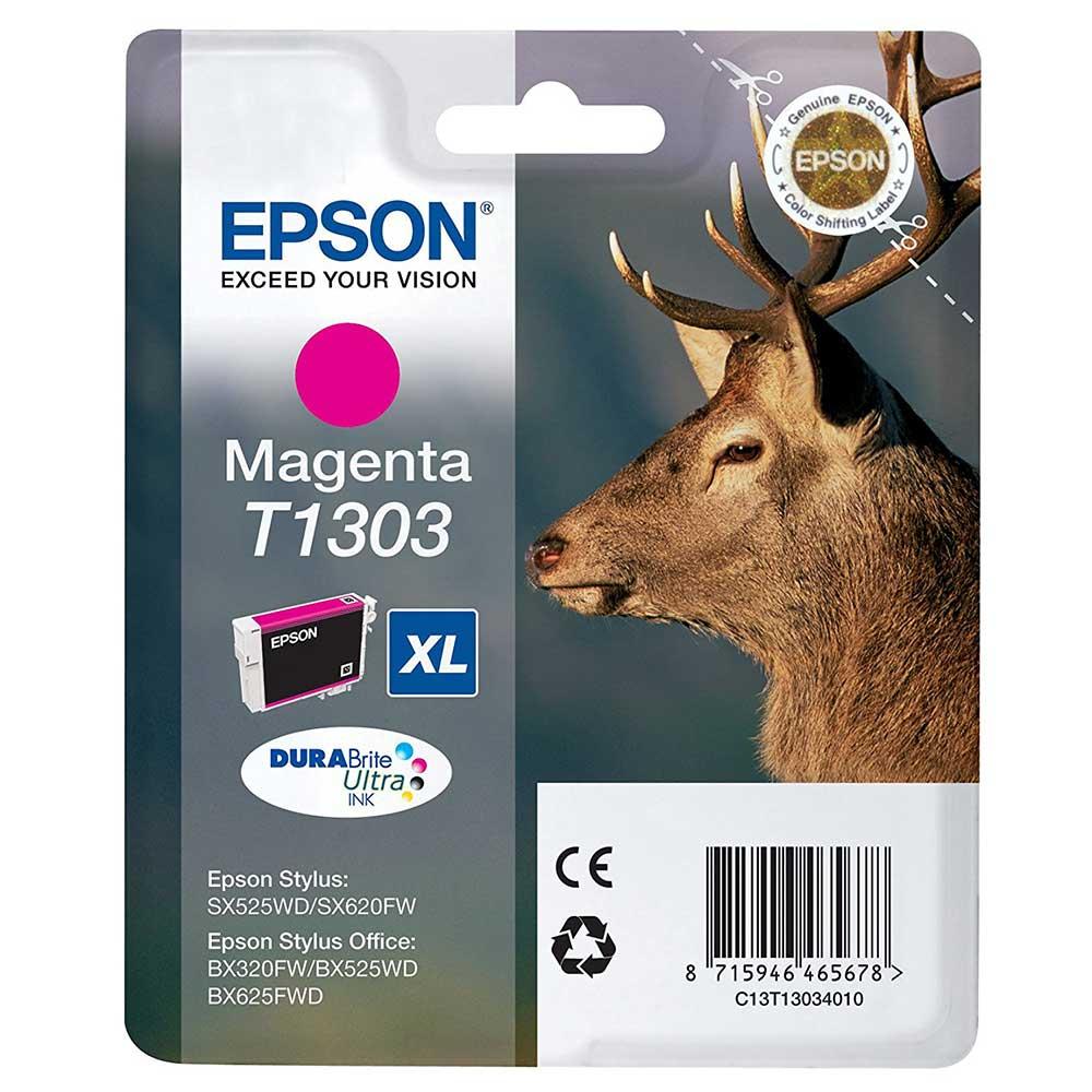 Epson Original T1303 STAG Ink Cartridge High Capacity 10.1ml - Magenta