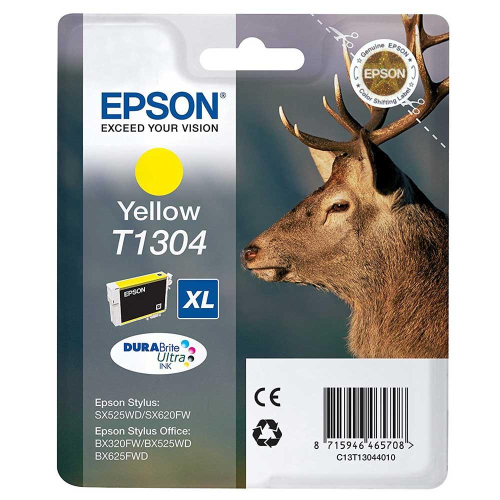Epson Original T1304 STAG Ink Cartridge High Capacity 10.1ml - Yellow