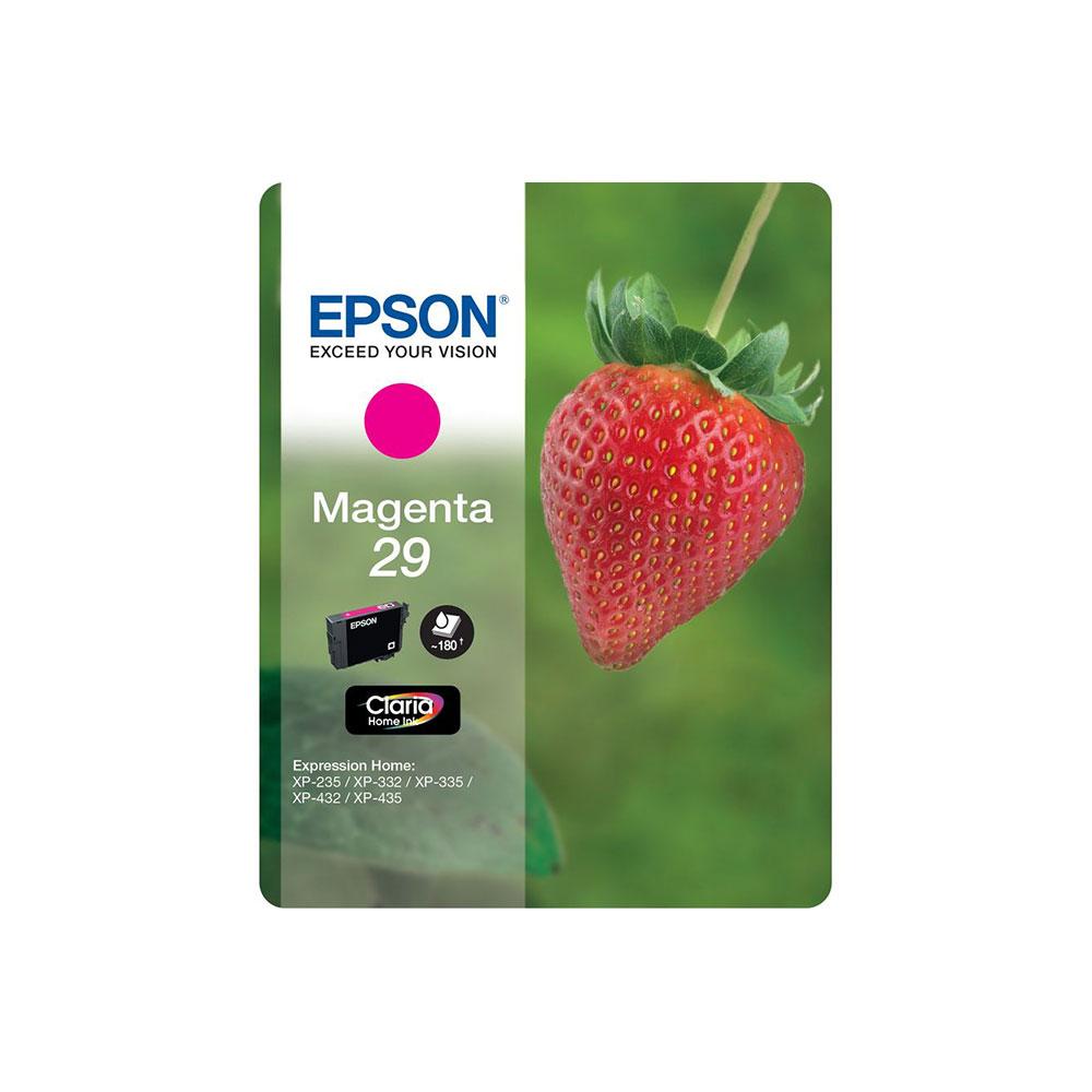 Epson Original 29 T2983 Strawberry Ink Cartridge 3.2ml Magenta