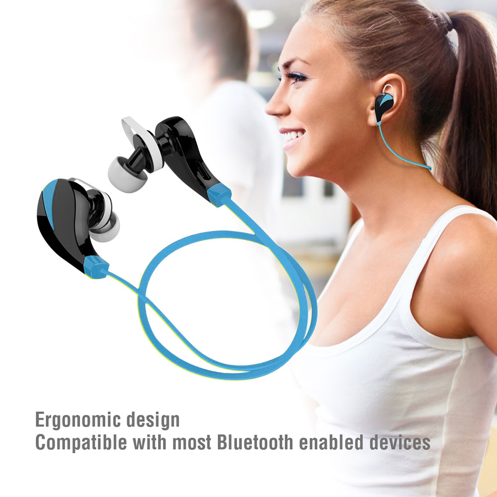 Bluetooth headphones sports sweatproof - bluetooth headphones with volume control
