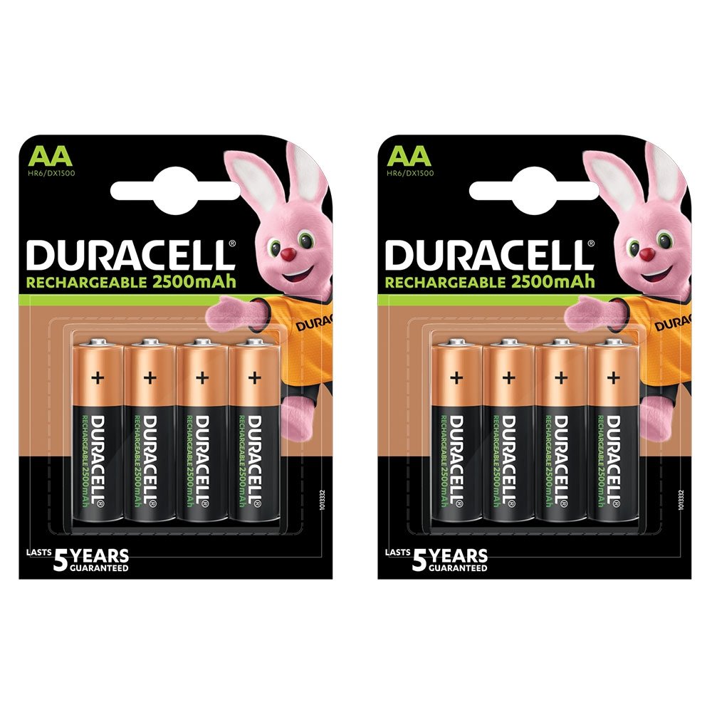 Click to view product details and reviews for Duracell Rechargeable Aa 2500mah Batteries 8 Pack.