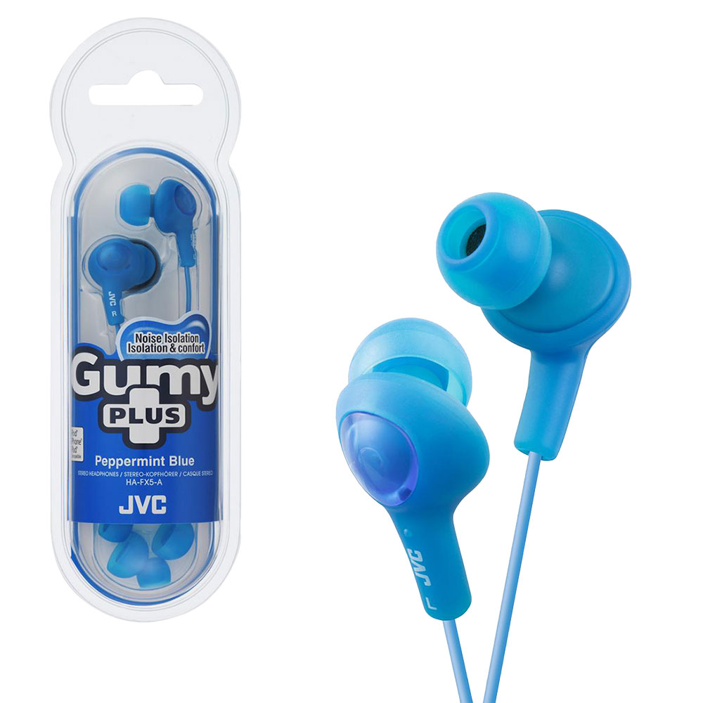 Earbuds yongfa - JVC HA-FX7 Gumy PLUS - earphones Overview