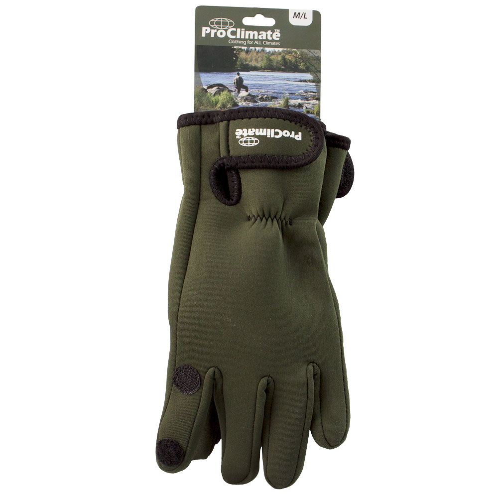 Mens-Neoprene-Fishing-Gloves-Lightweight-Waterproof thumbnail 6