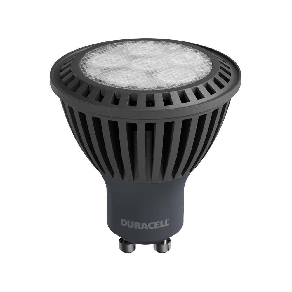 1 x duracell gu10 led spot light bulb 6 5w 50w equivalent dimmable warm white ebay. Black Bedroom Furniture Sets. Home Design Ideas